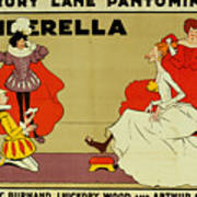 Poster For Cinderella Art Print