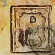 Postmark Girl Art Print