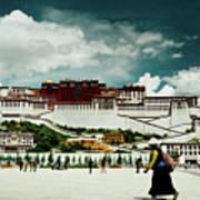 Potala Palace. Lhasa, Tibet. Yantra.lv Art Print