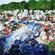 Potomac River At Great Falls  4 201687 Art Print
