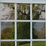 Potomac River Valley On Mount Vernon Art Print