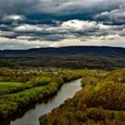 Potomac River Valley - West Virginia Art Print