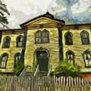 Potter Schoolhouse Art Print