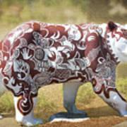 Pottery Bear Art Print