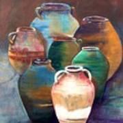 Pottery Jars Art Print