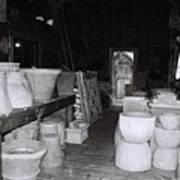 Potting Barn Of Maine Art Print