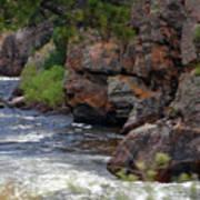 Poudre River 6 Art Print