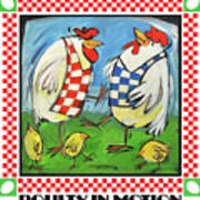 Poultry In Motion Poster Art Print