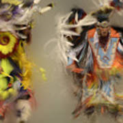 Pow Wow Beauty Of The Dance 1 Art Print