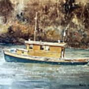 Powell River Canada Art Print