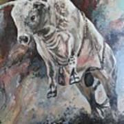 Power Of The Bull Art Print