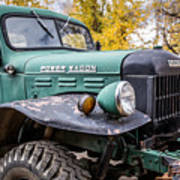 Power Wagon Art Print