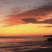 pr 239 - Sunset at Santa Cruz Art Print