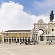Praca Do Comercio, The Square Of Commerce Art Print