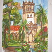 Prado- Balboa Park Art Print