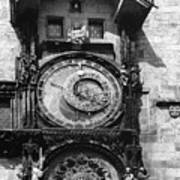Prague Astronomical Clock 1410 Art Print