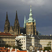 Prague Castle Complex Art Print
