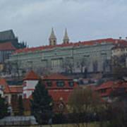 Prague Castle In Prague Czech Republic Art Print