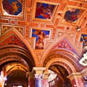 Prague Church Ceiling Art Print