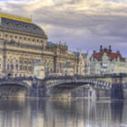 Prague, Czech Republic Art Print