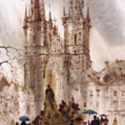 Prague Iv Art Print by Svetlana and Sabir Gadghievs