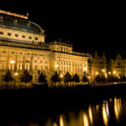 Prague National Theatre Art Print