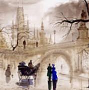 Prague Print by Svetlana and Sabir Gadghievs