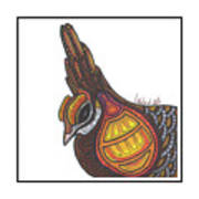 Prairie Chicken #51  Art Print