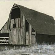 Prairie Overlook Print by Bryan Baumeister