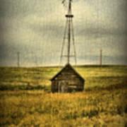 Prairie Pump Art Print