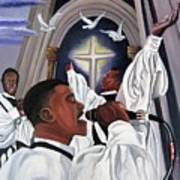 Praising God Art Print