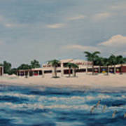 Praminade At Lido Beach Art Print