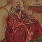 Prayer at Benghazi Art Print