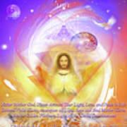 Prayer Blessing Art Print