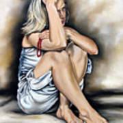 Prayer II Art Print by Ilse Kleyn
