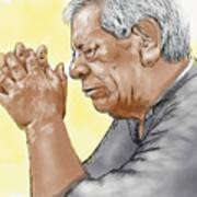 Prayer Of A Righteous Man Art Print