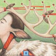 Prayer Of Elk Woman Art Print