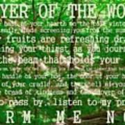 Prayer Of The Woods 2.0 Art Print