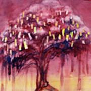 Prayer Tree II Art Print by Janet Chui