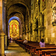 Prayers In The Cathedral Art Print