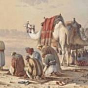 Prayers In The Desert Art Print