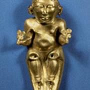 Pre-columbian Gold Art Print