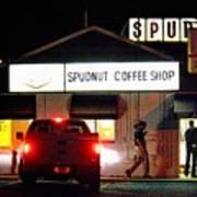 Pre-dawn Spudnut Run Art Print