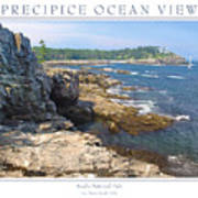 Precipice Ocean View Art Print