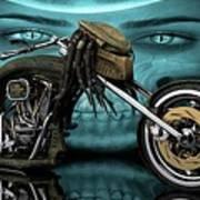 Predator Chopper Art Print