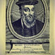 Predictions Of Nostradamus 4 Art Print