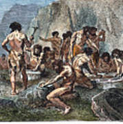 Prehistoric Man: Tools Art Print