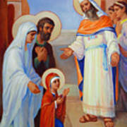 Presentation Of Mary In The Temple  Art Print