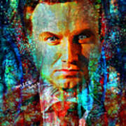 President Andrzej Duda Portrait Art Print