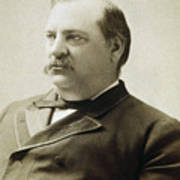 President Grover Cleveland Print by International  Images